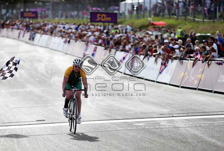 Susan Powell (AUS), Women's Individual C 4-5 Road Race.<br /> Cycling Road, Brands Hatch (Wednesday 5th Sept)<br /> Paralympics - Summer / London 2012<br /> London England 29 Aug - 9 Sept <br /> © Sport the library/Joseph Johnson