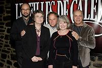 montreal (qc) Canada - dec 2<br />  2009,- Michel Rivard,arlette cousture,Paul Dupont-Hebert, Micheline Lanctot, ? Roussel<br /> <br /> les filles de caleb - la comedie musicale press conference