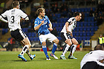 St Johnstone v Dundee....27.11.15  SPFL  McDiarmid Park, Perth<br /> David Wotherspoon scores to make it 1-1<br /> Picture by Graeme Hart.<br /> Copyright Perthshire Picture Agency<br /> Tel: 01738 623350  Mobile: 07990 594431