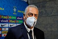 4th June 2021; Beira-Rio Stadium, Porto Alegre, Brazil; Qatar 2022 qualifiers; Brazil versus Ecuador;  Ecuador manager Gustavo Alfaro