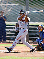 Thomas Neal / San Francisco Giants 2008 Instructional League..Photo by:  Bill Mitchell/Four Seam Images
