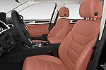 Front seat view of 2017 Volkswagen Touareg Executive 5 Door SUV Front Seat  car photos