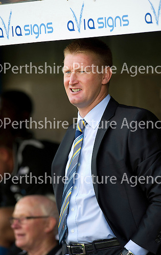 St Johnstone v Dundee United....01.09.12      SPL  .Steve Lomas.Picture by Graeme Hart..Copyright Perthshire Picture Agency.Tel: 01738 623350  Mobile: 07990 594431