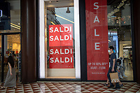 Milan first day of summer sales