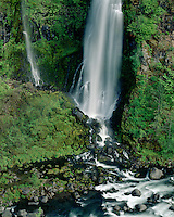 Barr Creek Falls on the Rogue River; Rogue River National Forest, OR
