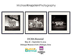 Three photographs by Michael Knapstein were selected for the DUMA Midwest Biennial exhibition at the Dubuque Museum of Art. The juror was Sarah Humphreville from the Whitney Museum of American Art in New York.