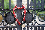 Locked Gate, San Michelle Restaurant, Florence, Tuscany, Italy
