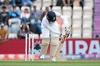 Jasprit Bumrah, India is trapped LBW first ball during India vs New Zealand, ICC World Test Championship Final Cricket at The Hampshire Bowl on 20th June 2021