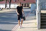 15.09.2020, Trainingsgelaende am wohninvest WESERSTADION - Platz 12, Bremen, GER, 1.FBL, Werder Bremen Training<br /> <br /> Spieler kommen am Dienstag morgen n Zivil zum Training<br /> <br /> Jiri Pavlenka (Werder Bremen #01)<br /> <br /> Foto © nordphoto / Kokenge
