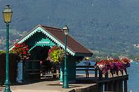 France, Haute-Savoie (74), Talloires:  Port de plaisance , Baie de Talloires// France, Haute Savoie, Talloires:   Marina Talloires Bay