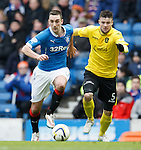 Lee Wallace and Calum Fordyce