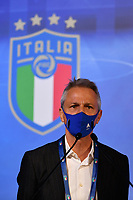 ROME, ITALY - FEBRUARY 22:  Lega Serie A President Paolo Dal Pino attends the FIGC Elective Assembly at Cavalieri Waldorf Astoria Hotel on February 21, 2021 in Rome, Italy.  <br /> Photo Marco Rosi / FIGC / Insidefoto
