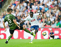 Tottenham's Moussa Sissoko during the pre season friendly match between Tottenham Hotspur and Juventus at White Hart Lane, London, England on 5 August 2017. Photo by Andrew Aleksiejczuk / PRiME Media Images.