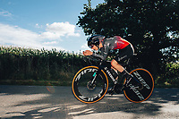 6th October 2021 Womens Cycling Tour, Stage 3. Individual Time Trial; Atherstone to Atherstone. Anna Shackley.
