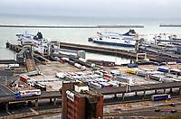 SEP 3 Dover-Calais Ferry Port