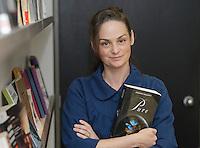2012 File Photo, Juliana Baggott, author, PURE