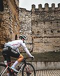 Lorena Wiebes (NED) Team Sunweb wins Stage 1 of the CERATIZIT Challenge by La Vuelta 2020, running 82.8km from Toledo to Escalona, Spain. 6th November 2020.<br /> Picture: Antonio Baixauli López/BaixauliStudio | Cyclefile<br /> <br /> All photos usage must carry mandatory copyright credit (© Cyclefile | Antonio Baixauli López/BaixauliStudio)