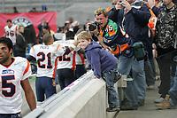 Fans mit den Spielern