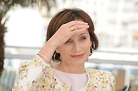 Kristin Scott Thomas .Cannes 22/5/2013 .66mo Festival del Cinema di Cannes 2013 .Foto Panoramic / Insidefoto .ITALY ONLY