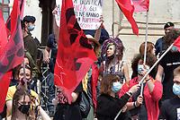 Manifestazione scuola al Miur