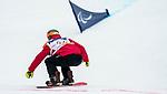 Colton Liddle, PyeongChang 2018 - Para Snowboard // Parasnowboard.<br /> Highlights of Team Canada during Para Snowboard competition // Faits saillants d'Équipe Canada lors d'une compétition de parasnowboard. 16/03/2018.