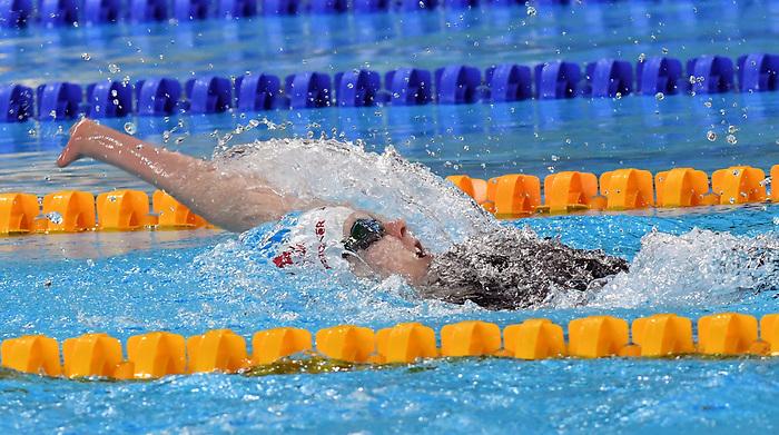 Arianna Hunsicker, Lima 2019 - Para Swimming // Paranatation.<br /> Arianna Hunsicker competes in Para Swimming // Arianna Hunsicker participe en paranatation. 27/08/2019.