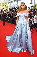 Elsa Hosk sur le tapis rouge pour la projection du film THE BEGUILED / LES PROIES lors du soixante-dixième (70ème) Festival du Film à Cannes, Palais des Festivals et des Congres, Cannes, Sud de la France, mercredi 24 mai 2017. Philippe FARJON / VISUAL Press Agency