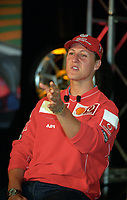 FILE PHOTO : Michael Schumaker adress the media at the Montreal Formula One Grand-Prix 2002.<br /> <br /> <br /> <br /> <br /> <br /> <br /> <br /> <br /> <br /> <br /> <br /> <br /> <br /> .