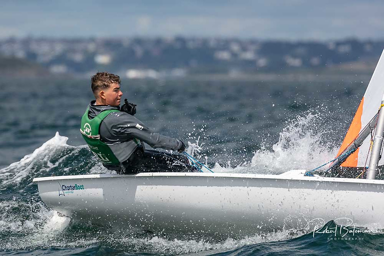 Howth Yacht Club's Rocco Wright