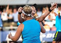 Netherlands, September 12,  2021, Naaldwijk KIA Competition mixed, premier league, LTC Naaldwijk vs TC Leimonias, womans doubles::  Deciding moment Naaldwijk is Champion<br /> Photo: Henk Koster/tennisimages.com