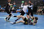 Martin Johannson (EST) am Ball bei der Euro-Qualifikation im Handball, Deutschland - Estland.<br /> <br /> Foto © PIX-Sportfotos *** Foto ist honorarpflichtig! *** Auf Anfrage in hoeherer Qualitaet/Aufloesung. Belegexemplar erbeten. Veroeffentlichung ausschliesslich fuer journalistisch-publizistische Zwecke. For editorial use only.