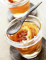 Cuisine/Gastronomie: Chutney de citrons aux pignons et baies roses