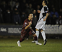 26/01/2010  Copyright  Pic : James Stewart.sct_jspa06_stenhousemuir_v_dunfermline  .:: STENNY'S KEVIN BRADLEY CELEBRATES SCORING TH EQUALISER :: .James Stewart Photography 19 Carronlea Drive, Falkirk. FK2 8DN      Vat Reg No. 607 6932 25.Telephone      : +44 (0)1324 570291 .Mobile              : +44 (0)7721 416997.E-mail  :  jim@jspa.co.uk.If you require further information then contact Jim Stewart on any of the numbers above.........