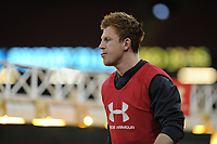 Rhys Patchell of Wales during the Wales Captains Run at The Principality Stadium in Cardiff, Wales, UK. Friday 16 November 2018