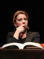 """CONCITA DE GREGORIO.Roma 30/01/2010 Presentazione del libro """"Giustizia e Potere""""..Presentation of the book """"Justice and Power""""..Photo Samantha Zucchi Insidefoto"""