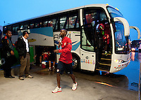 San Jose, Costa Rica - Thursday, September 5, 2013: The USMNT trains in San Jose before it's WC Qualifying match with Costa Rica.