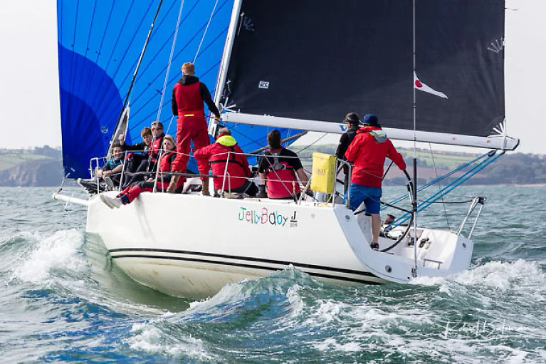 The J/109 Jelly Baby (Brian Jones) personifies the spirit of Cork sailing, which this weekend is being celebrated with the two-day AIB RCYC Tricentenary+1 Regatta