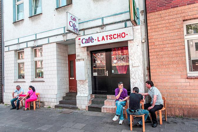 Straßenbild in Duisburg-Hochfeld hat sich in den letzten Jahren verändert