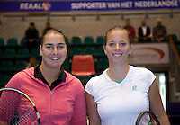 15-12-10, Tennis, Rotterdam, Reaal Tennis Masters 2010, Nicolette van Uitert en  Danielle Harmsen(R)