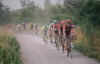 Laurens Sweeck (BEL/Pauwels Sauzen Vastgoedservice)<br /> <br /> 3rd Dwars Door Het hageland 2018 (BEL)<br /> 1 day race:  Aarschot > Diest: 198km