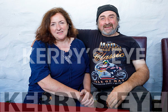 Ann and James Kelly from Lismore, Tralee enjoying the evening in Cassidys on Saturday.