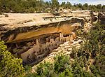 Cliff dwellings, Mesa Verde, CO. 1190's