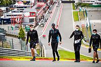 27th August 2020, Spa Francorhamps, Belgium, F1  Grand Prix of Belgium, 6 Nicholas Latifi CAN, Williams Racing, Spa-Francorchamps Belgium