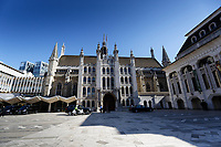 Pictured: The Guildhall, City of London, in London, UK. Tuesday 26 June 2018<br /> Re: Greek Prime Minister Alexis Tsipras is on a three day visit to London, UK.