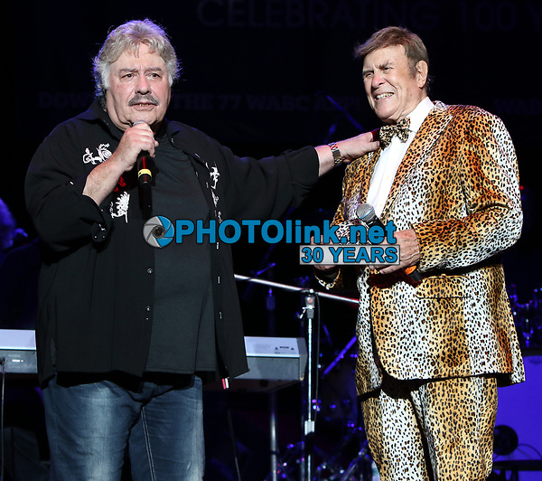 Holmdel, NJ 8/26/2021<br /> Bruce Morrow and Tony Orlando performing at Cousin' Brucie's Palisades Park reunion at PNC Bank Arts Center.<br /> Photo By John Barrett/PHOTOlink.net