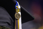 May 19, 2019; Tassel at the 2019 Notre Dame Commencement ceremony. (Photo by Matt Cashore/University of Notre Dame)