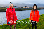 Enjoying a stroll in Blennerville on Saturday morning, l to r:  Jo O'Connor and Catherine Sugrue