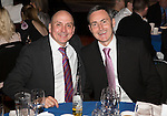 St Johnstone FC Hall of Fame Dinner, Perth Concert Hall….03.04.16<br />Hall fo Fame Inductees Steve Maskrey (left) and Dougie Barron<br />Picture by Graeme Hart.<br />Copyright Perthshire Picture Agency<br />Tel: 01738 623350  Mobile: 07990 594431