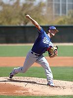 Layne Somsen - Los Angeles Dodgers 2018 spring training (Bill Mitchell)