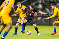 AND, A - SEPTEMBER 11: Cam Cilley during a game between San Jose State and Stanford University at And on September 11, 2021 in And, A.